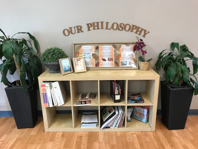 Reception - Philosophy Display