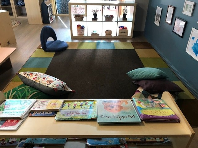 SnrToddlers Book Area
