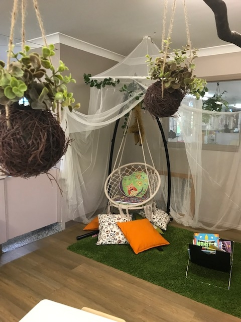 Toddlers Quiet Area Swing